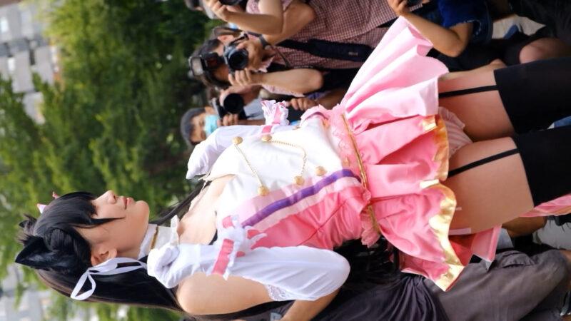 CWT55 Taiwan Cosplay AzurLane Freya Atago idol [CALS] 01:09