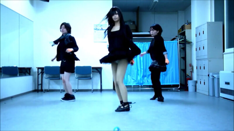 【ETTA】Perfume レーザービーム 踊ってみた【三度&Danろ&SADAKO】 01:41-002