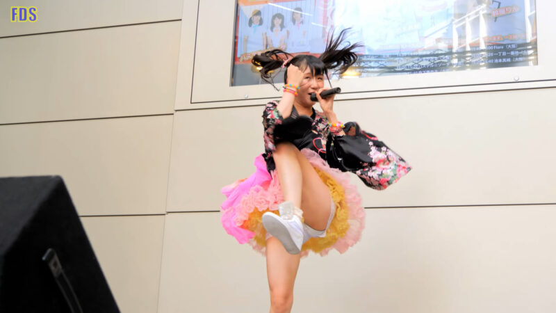 森下華奈子 「MyParty! / ロケットモンスター」 アイドル Japanese girls idol singer [4K] 01:43