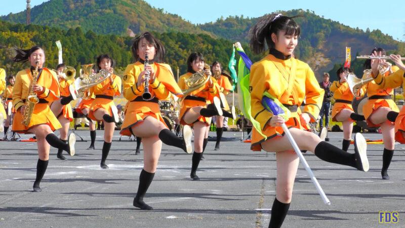 京都橘高校 吹奏楽部 大江山酒呑童子祭り マーチングドリル (前半) Kyoto Tachibana SHS Band [4K] 02:29