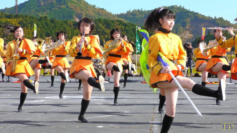 京都橘高校 吹奏楽部 大江山酒呑童子祭り マーチングドリル (前半) Kyoto Tachibana SHS Band [4K] 02:34