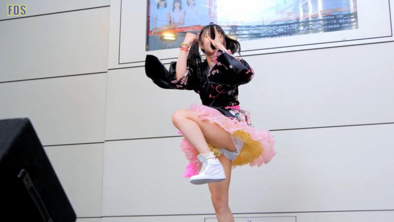 森下華奈子 「MyParty! / ロケットモンスター」 アイドル Japanese girls idol singer [4K] 02:55