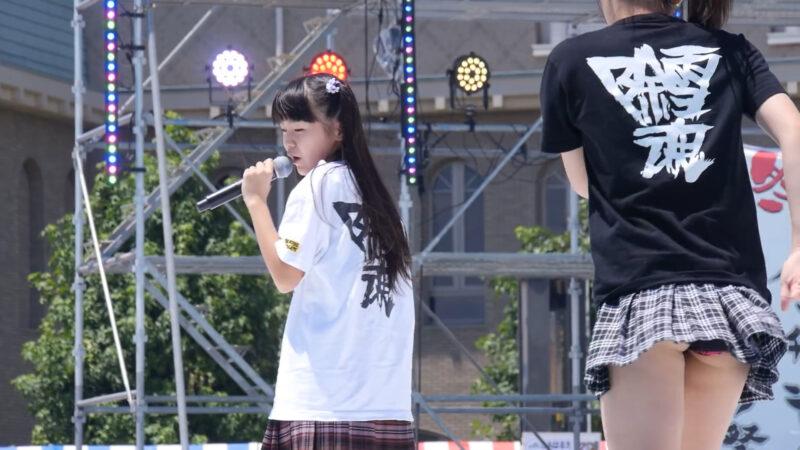 おやゆびプリンセス でんすけ祭り 第1部 ズームカメラ 2015年7月25日 03:17