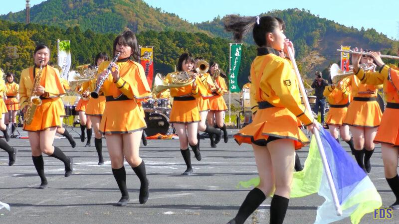 京都橘高校 吹奏楽部 大江山酒呑童子祭り マーチングドリル (前半) Kyoto Tachibana SHS Band [4K] 03:26
