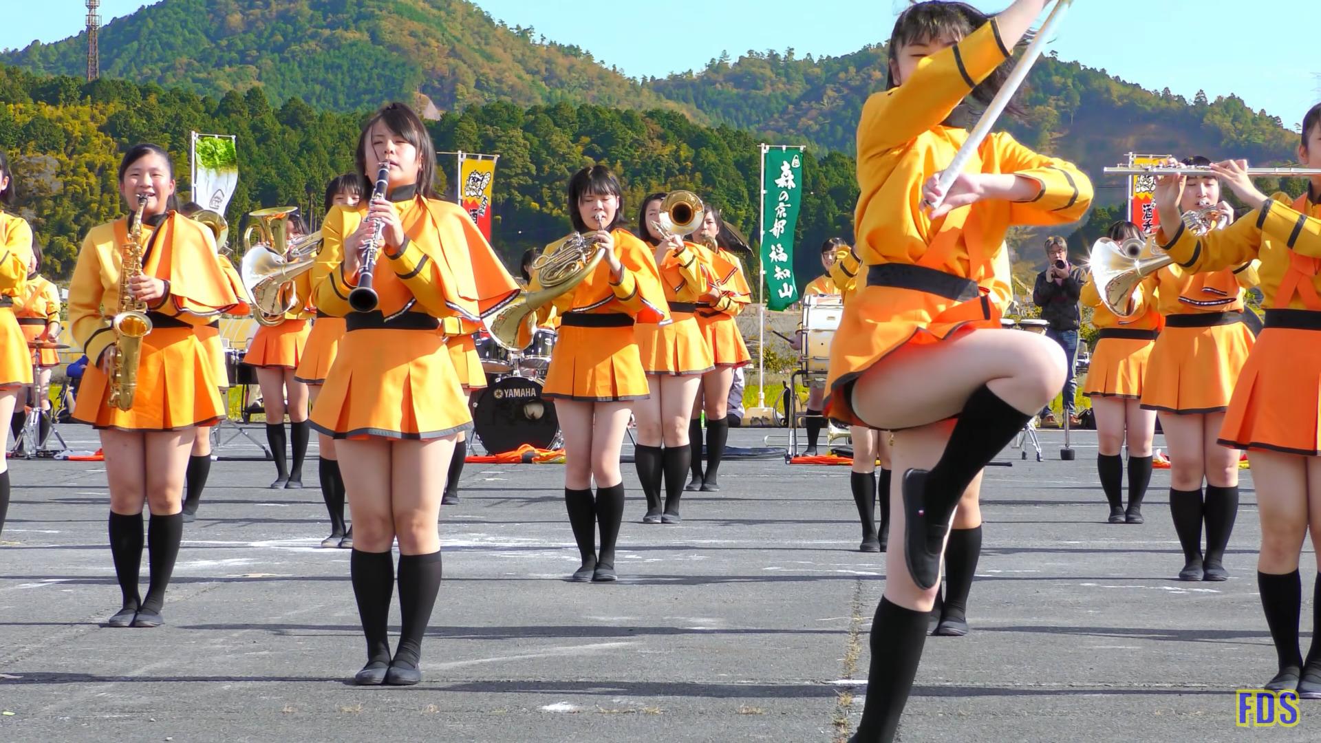 京都橘高校 吹奏楽部 大江山酒呑童子祭り マーチングドリル (前半) Kyoto Tachibana SHS Band [4K] 03:27