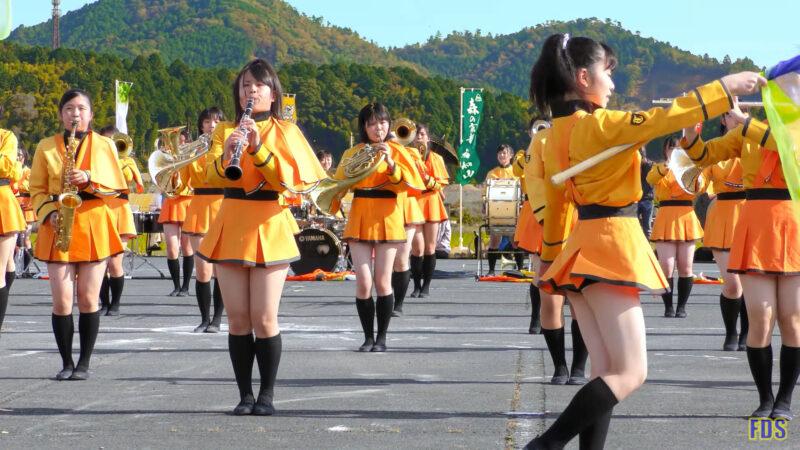 京都橘高校 吹奏楽部 大江山酒呑童子祭り マーチングドリル (前半) Kyoto Tachibana SHS Band [4K] 03:36