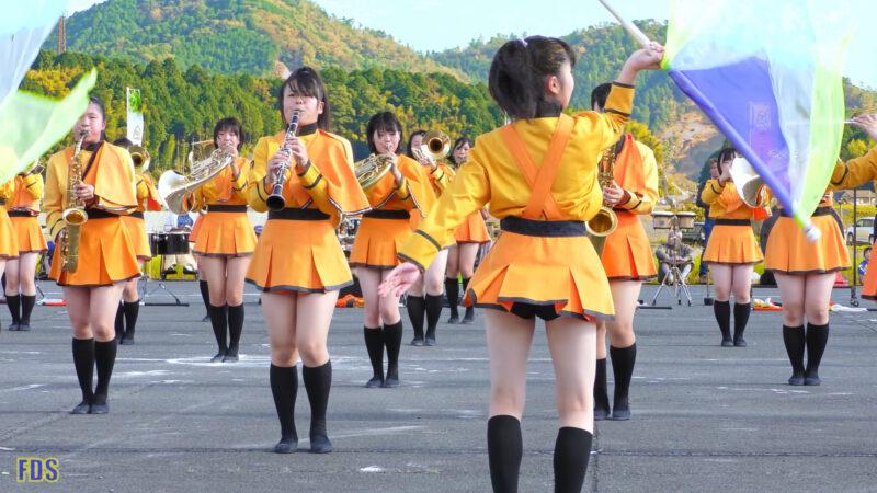 京都橘高校 吹奏楽部 大江山酒呑童子祭り マーチングドリル (前半) Kyoto Tachibana SHS Band [4K] 05:45