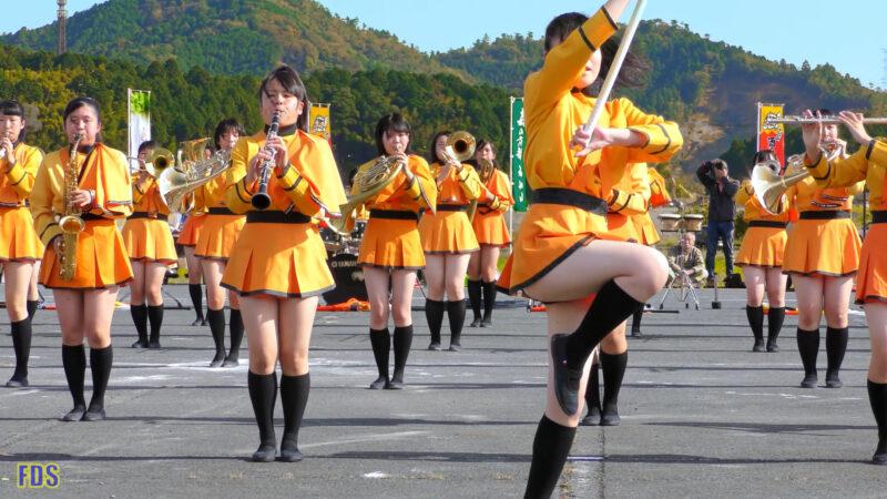 京都橘高校 吹奏楽部 大江山酒呑童子祭り マーチングドリル (前半) Kyoto Tachibana SHS Band [4K] 08:01