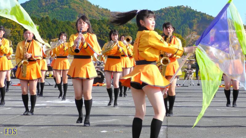 京都橘高校 吹奏楽部 大江山酒呑童子祭り マーチングドリル (前半) Kyoto Tachibana SHS Band [4K] 09:32