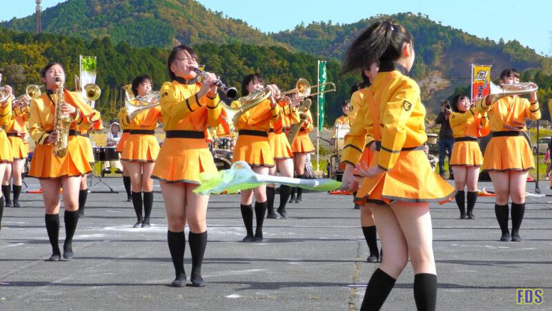 京都橘高校 吹奏楽部 大江山酒呑童子祭り マーチングドリル (前半) Kyoto Tachibana SHS Band [4K] 10:54