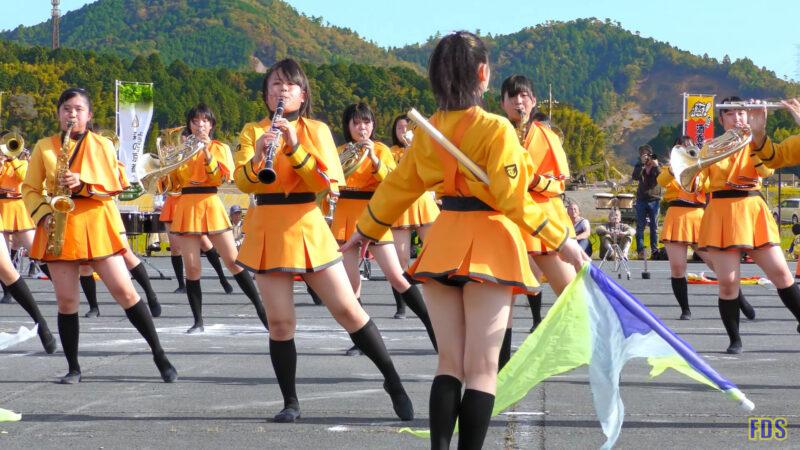 京都橘高校 吹奏楽部 大江山酒呑童子祭り マーチングドリル (前半) Kyoto Tachibana SHS Band [4K] 11:09