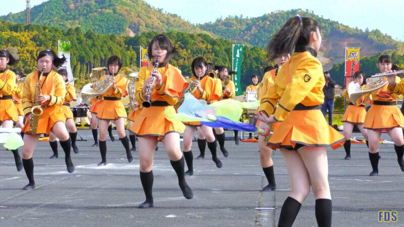 京都橘高校 吹奏楽部 大江山酒呑童子祭り マーチングドリル (前半) Kyoto Tachibana SHS Band [4K] 11:53