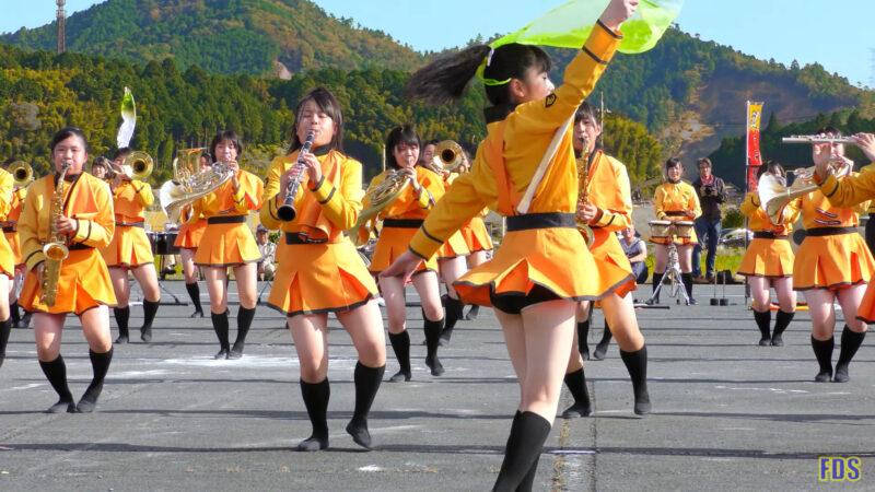 京都橘高校 吹奏楽部 大江山酒呑童子祭り マーチングドリル (前半) Kyoto Tachibana SHS Band [4K] 14:07