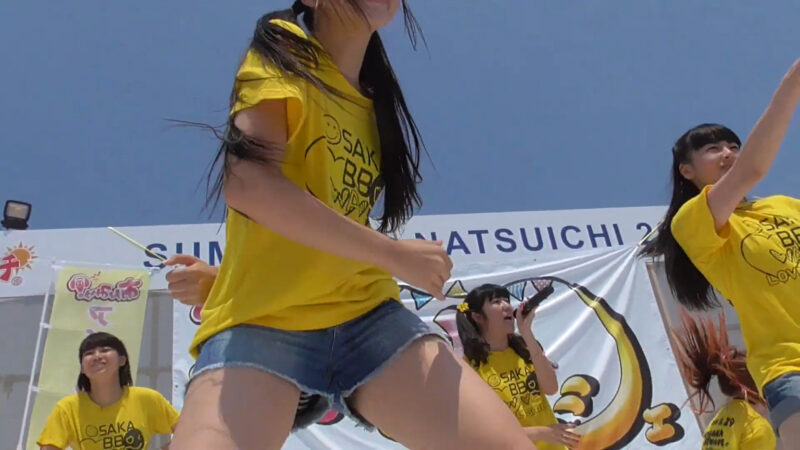 OSAKA BB WAVE  【We are!】 Tokonatsu Idol Festival 01:56