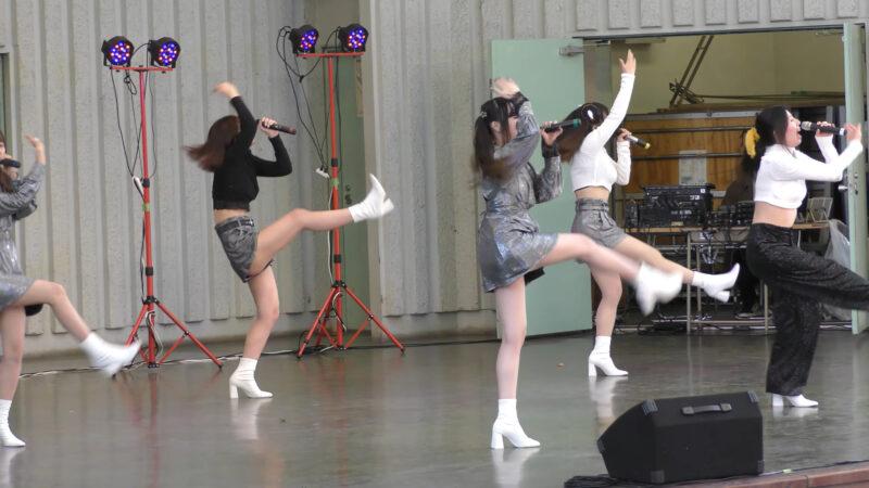 【掲載許可済】⑥みらくる☆ふぉーぜ『idol campus vol.262~アイドルキャンパス上野公園水上音楽堂編~』2021.04.20(Tue.)【動画撮影は本来はNGみたいです】 00:28