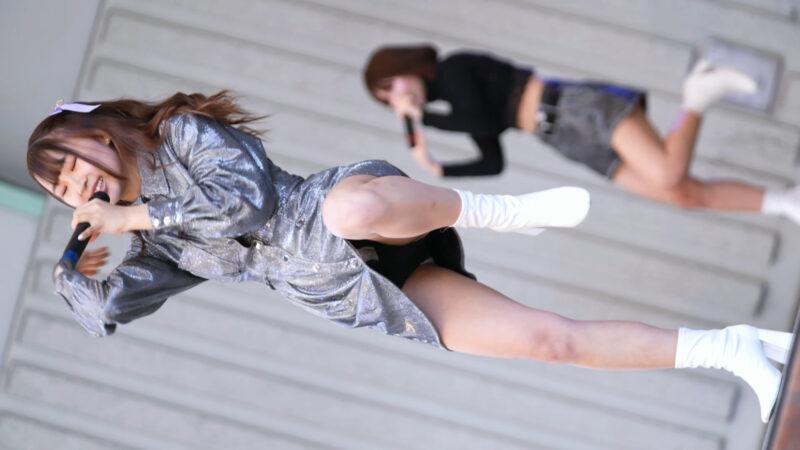 【α7SIII】みらくる☆ふぉーぜ②/縦動画[4K/60P]アイドルキャンパス上野公園20210420 07:39