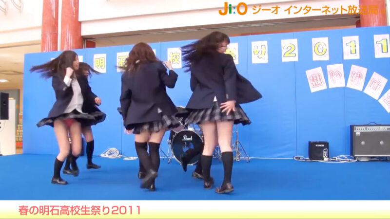 春の明石高校生祭り2011「道端ハッピーセット」 jiotv 07:52
