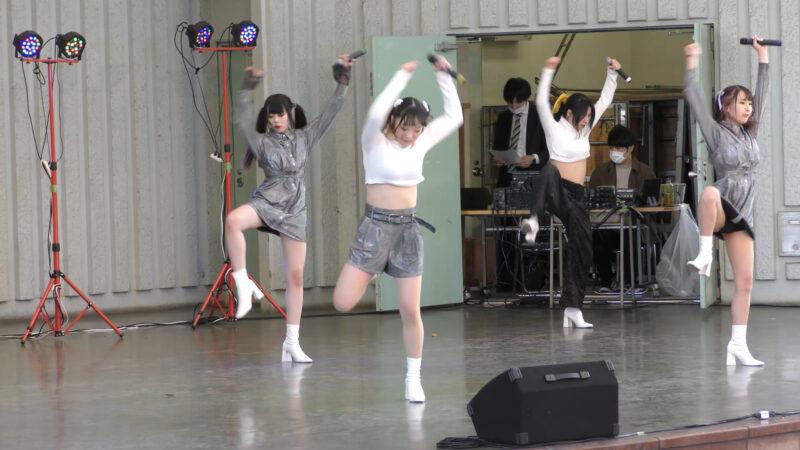【掲載許可済】⑥みらくる☆ふぉーぜ『idol campus vol.262~アイドルキャンパス上野公園水上音楽堂編~』2021.04.20(Tue.)【動画撮影は本来はNGみたいです】 07:56