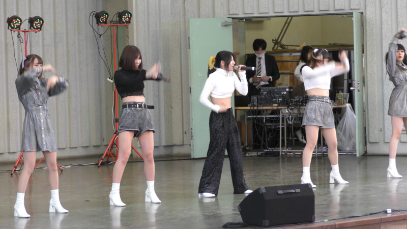 【掲載許可済】⑥みらくる☆ふぉーぜ『idol campus vol.262~アイドルキャンパス上野公園水上音楽堂編~』2021.04.20(Tue.)【動画撮影は本来はNGみたいです】 09:24