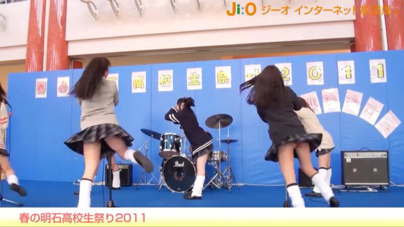 春の明石高校生祭り2011「道端ハッピーセット」 jiotv 15:13