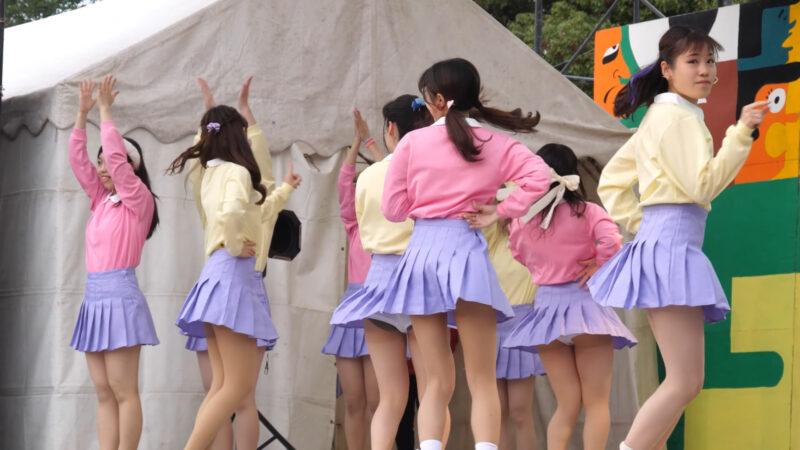 Female college student dance circle② 00:52