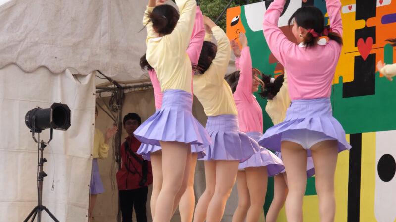 Female college student dance circle② 00:59-001