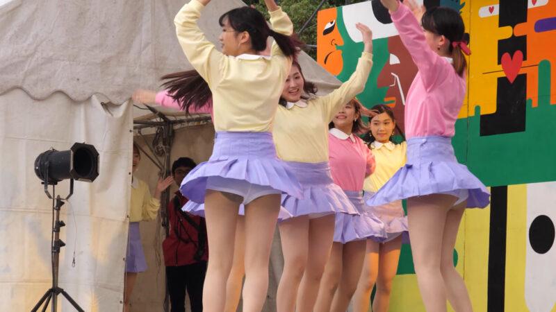 Female college student dance circle② 00:59-002