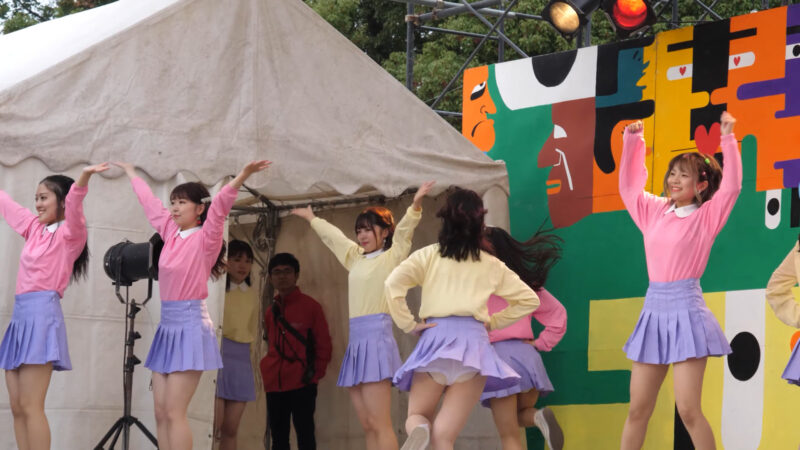 Female college student dance circle② 01:05