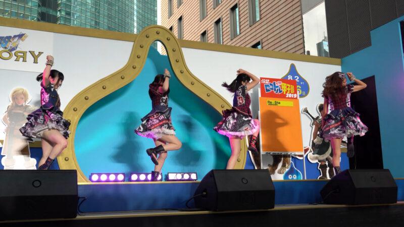 【4K/α7Rⅲ】Re☆Sta/リスタ/愛知県名古屋市代表(Japanese idol group Re☆Sta) 汐留ロコドル甲子園2019 準決勝第1試合 2019年7月27日(土) 01:10