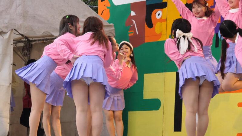 Female college student dance circle② 01:59