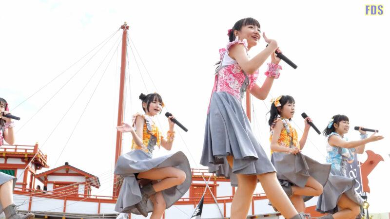 インフローレ女学院 中高生アイドル 「1000%」 Japanese girls Idol group [4K] 02:05