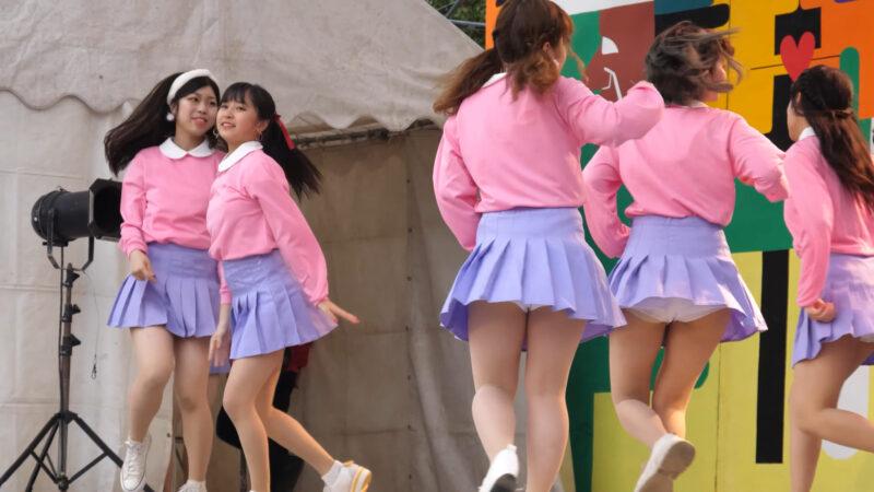 Female college student dance circle② 02:05