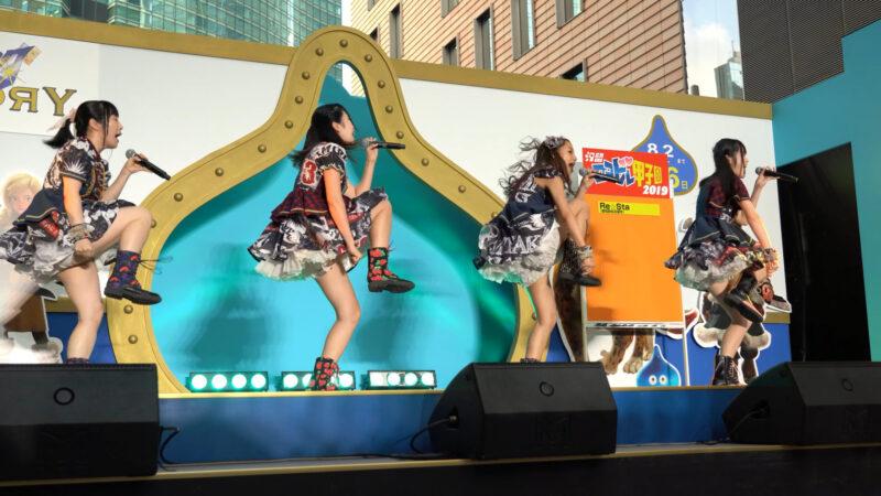 【4K/α7Rⅲ】Re☆Sta/リスタ/愛知県名古屋市代表(Japanese idol group Re☆Sta) 汐留ロコドル甲子園2019 準決勝第1試合 2019年7月27日(土) 02:24