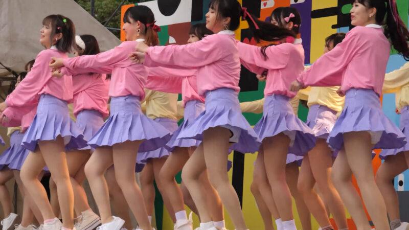 Female college student dance circle② 03:00