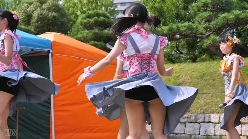 インフローレ女学院 アイドル「YES!YES!Summer」城天 Japanese girls Idol group [4K] 03:03