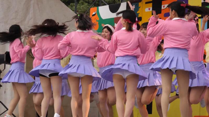Female college student dance circle② 03:09