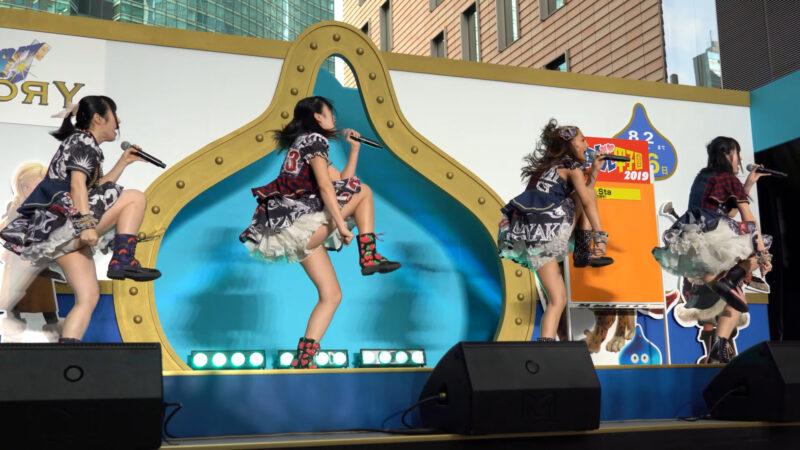 【4K/α7Rⅲ】Re☆Sta/リスタ/愛知県名古屋市代表(Japanese idol group Re☆Sta) 汐留ロコドル甲子園2019 準決勝第1試合 2019年7月27日(土) 03:22
