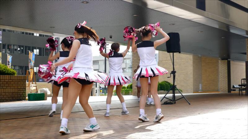 Cherries(チェリーズ)チアダンス  2017/7/15 07:01