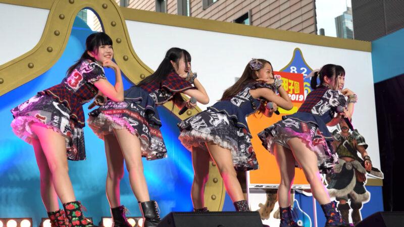 【4K/α7Rⅲ】Re☆Sta/リスタ/愛知県名古屋市代表(Japanese idol group Re☆Sta) 汐留ロコドル甲子園2019 準決勝第1試合 2019年7月27日(土) 10:56