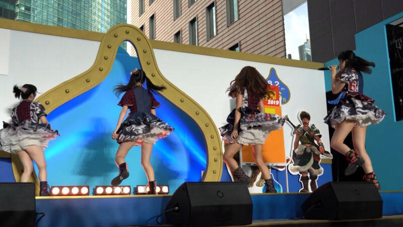 【4K/α7Rⅲ】Re☆Sta/リスタ/愛知県名古屋市代表(Japanese idol group Re☆Sta) 汐留ロコドル甲子園2019 準決勝第1試合 2019年7月27日(土) 11:14