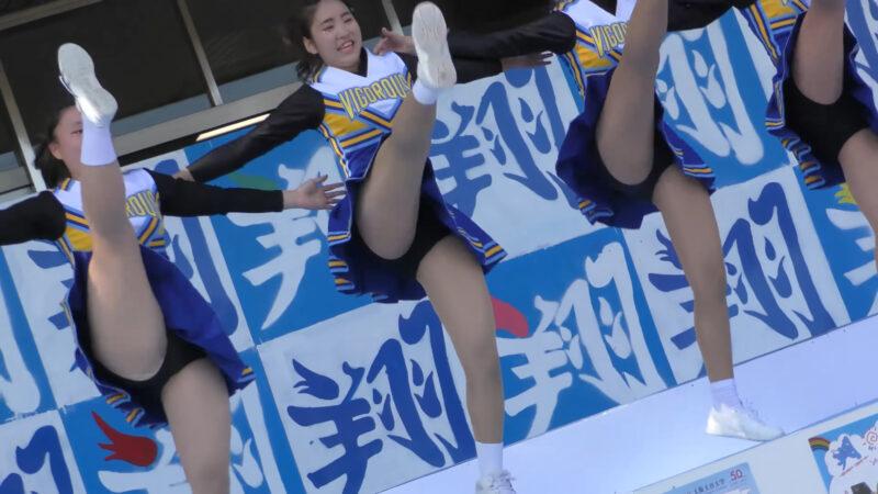 Female university student baton twirling club④ 01:17