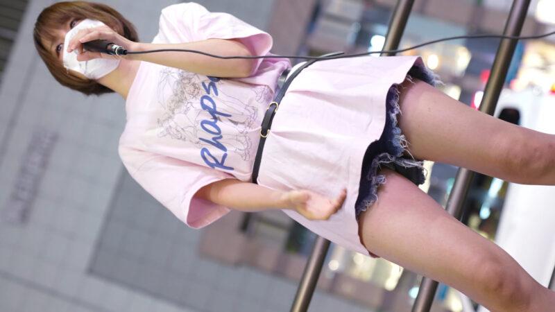 【4K/60Pa7SⅢ】雨上がりのラプソディ 路上ライブ新宿東南口 2021/06/17 03:47
