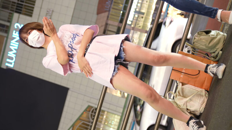 【4K/60Pa7SⅢ】雨上がりのラプソディ 路上ライブ新宿東南口 2021/06/17 07:11