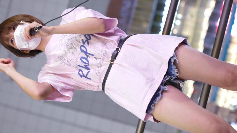 【4K/60Pa7SⅢ】雨上がりのラプソディ 路上ライブ新宿東南口 2021/06/17 09:12