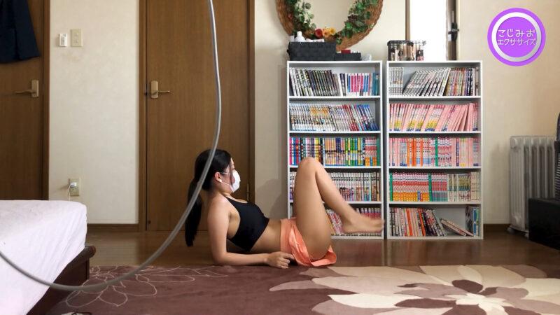 【DIY女子】プルプルになるぐらいまで腹筋を追い込む❣エクササイズ初心者の限界に挑戦【ヒップアップ】 06:09