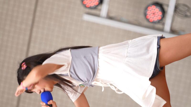 【4K/60P/a7SⅢ】松山あおい アイドルステーションvol.4~女神達と梅雨を吹き飛ばせ!②~稲毛海岸野外音楽堂 2021/06/20 06:55