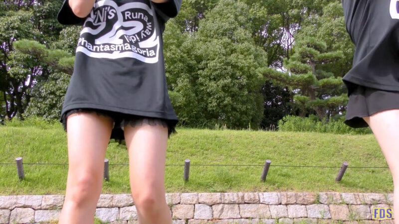 灼熱のアイドルライブ 「放課後ゲタ箱ロッケンロールMX」 城天 Japanese girls idol group [4K] 00:27