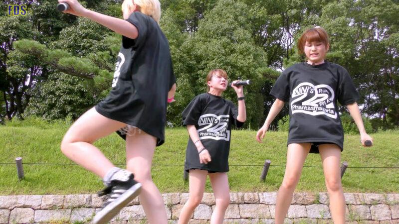 灼熱のアイドルライブ 「放課後ゲタ箱ロッケンロールMX」 城天 Japanese girls idol group [4K] 00:42