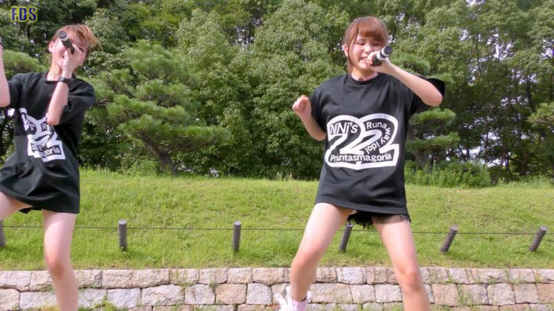灼熱のアイドルライブ 「放課後ゲタ箱ロッケンロールMX」 城天 Japanese girls idol group [4K] 01:38