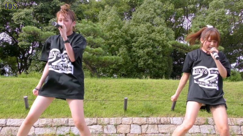 灼熱のアイドルライブ 「放課後ゲタ箱ロッケンロールMX」 城天 Japanese girls idol group [4K] 01:41